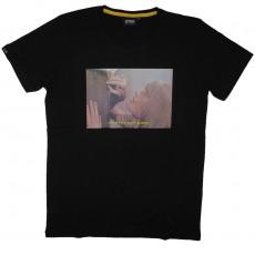 T-Shirt Space Monkeys - Boss Crew neck Tee - Black