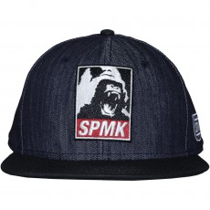 Casquette Snapback Space Monkeys - Disobey - Raw Denim