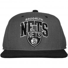 Casquette Snapback Mitchell And Ness - NBA Scholar - Brooklyn Nets - Black