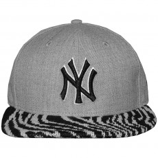 Casquette Snapback New Era - 9Fifty MLB Heather Pair - New York Yankees - Heather Grey / Black / Zebra White
