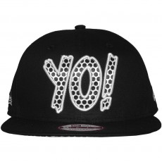 Casquette Strapback New Era - 9Fifty YO ! - Black / White