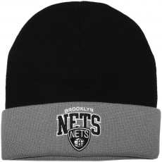 Bonnet Mitchell And Ness - NBA Arched Cuff Knit - Brooklyn Nets - Black