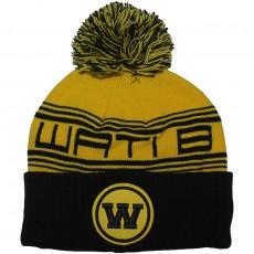Bonnet Wati B - Triple Beanie - Yellow / Black