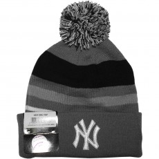 Bonnet New Era - MLB Stripe Out 2 - New York Yankees - Grey / Navy