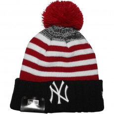 Bonnet New Era - MLB Snowfallstrip2 - New York Yankees - Black / Scarlet / White