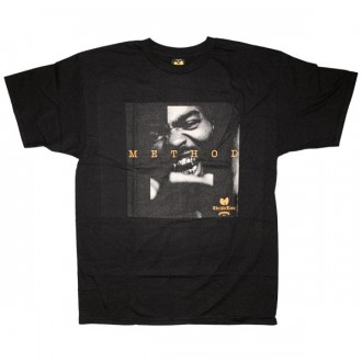The Wu-Tang Brand T-Shirt - Method Tee - Black