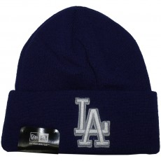 Bonnet New Era - MLB Lic Over Cuff - Los Angeles Dodgers - Blue