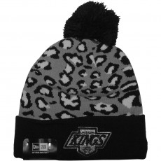 Bonnet New Era - NHL Team Leopard 2 - Los Angeles Kings - Black / Grey / White