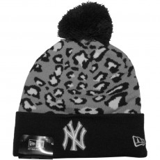 Bonnet New Era - MLB Team Leopard 2 - New York Yankees - Navy / Grey / White