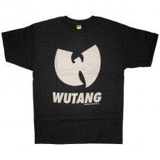 The Wu-Tang Brand T-Shirt - WBL Logo Tee - Black Grey