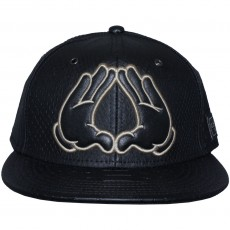 Casquette Strapback Cayler And Sons - Flatbush Cap - Black Snake / Black / Gold