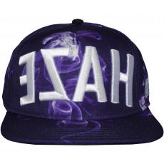 Casquette Snapback Cayler And Sons - EZAH Cap - Purple Smoke / Black / White