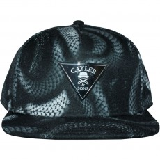 Casquette Snapback Cayler And Sons - Milano 2Tone Cap - Black / Black Snakes