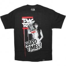 DISSIZIT! T-shirt - Hard Times Tee - Black