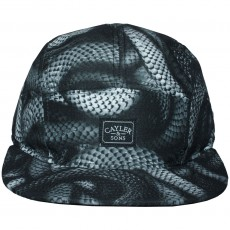 Casquette 5 Panel Cayler And Sons - Milano Cap - Black / Black Snakes