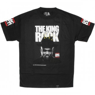 DISSIZIT ! T-shirt - King Of Rock - Black