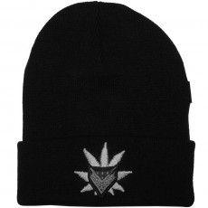Bonnet Cayler And Sons - Never Polite Beanie - Black / White