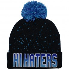 Bonnet Cayler And Sons - Hi Haters Pom Pom Beanie - Black / Fading Blue