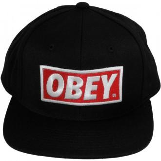 100% de satisfaction profiter de la livraison gratuite la réputation d'abord Casquette Snapback Obey - Original - Black-Black