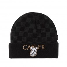 Bonnet Cayler And Sons - Checkers Beanie - Black / Grey / Gold