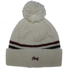 Bonnet Obey - Norfolk Pom Pom Beanie - Cream