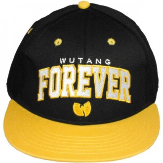 Casquette Snapback Wu-Tang Brand - Forever Snapback - Black/Yellow
