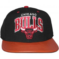 Casquette Snapback Mitchell And Ness - NBA MVP - Chicago Bulls - Black / Red
