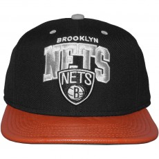 Casquette Snapback Mitchell And Ness - NBA MVP - Brooklyn Nets - Black / Grey