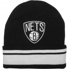 Bonnet Mitchell And Ness - NBA Jersey Stripe - Brooklyn Nets - Black / White