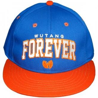 Casquette Snapback Wu-Tang Brand - Forever Snapback - Blue/Orange