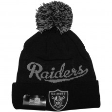 Bonnet New Era - NFL Bobblescript 2  Oakland Raiders - Black