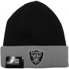 Bonnet New Era - NFL Contrast Cuff Oakland Raiders - Black / Grey