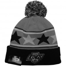 Bonnet New Era - NHL Pommy Star Los Angeles Kings - Grey / Black