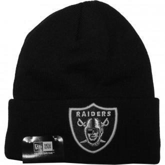 Bonnet New Era - NFL Lic Over Cuff Oakland Raiders - Black