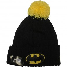 Bonnet New Era x DC Comics - Hero Fill Knit Batman - Black