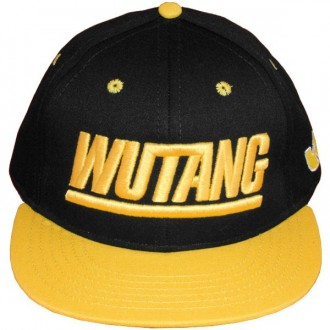 Casquette Snapback Wu-Tang Brand - Team Wu Snapback - Black/Yellow