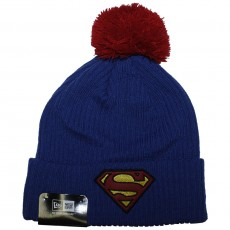 Bonnet New Era x DC Comics - Hero Fill Knit Superman - Blue