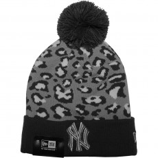 Bonnet New Era - MLB Team Leopard 2 New York Yankees - Grey / White