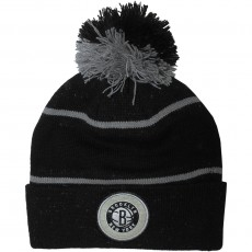 Bonnet Mitchell And Ness - NBA Speckled Cuff Knit - Brooklyn Nets - Black