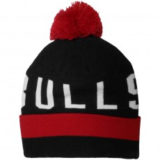 Bonnet Mitchell And Ness - NBA Yard Bobble Knit - Chicago Bulls