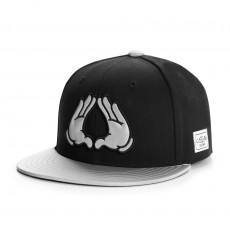 Casquette Snapback Cayler And Sons - Brooklyn Reflect Cap - Black / Reflective
