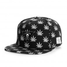 Casquette Snapback Cayler And Sons - Budz n Stripes Reflect 2-Tone Cap - Black / Reflective