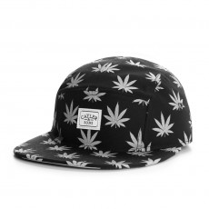 Casquette 5 Panel Cayler And Sons - Budz n Stripes Reflect 5 Panel Cap - Black / Reflective