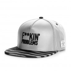 Casquette Snapback Cayler And Sons - Problems Reflect Cap - Black / Reflective