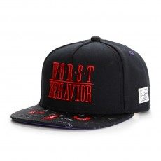 Casquette Snapback Cayler And Sons - Behavior Cap - Black / Red / Purple