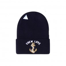 Bonnet Cayler And Sons - Lovin The Crew Old School Beanie - Navy / Gold / White