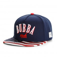 Casquette Snapback Cayler And Sons - Bubba Kush Cap - Navy / Red / Camo