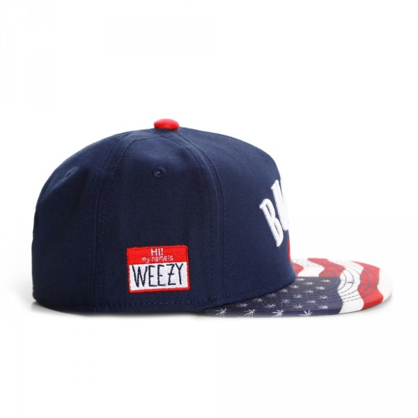 Casquette Snapback Cayler And Sons - Bubba Kush Cap - Navy ...