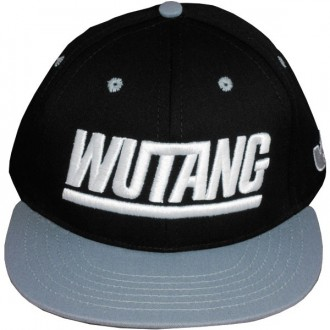 Casquette Snapback Wu-Tang Brand - Team Wu Snapback - Black/Silver
