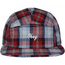 Casquette 5 Panel Obey - Hinton 5 Panel - Red Multi